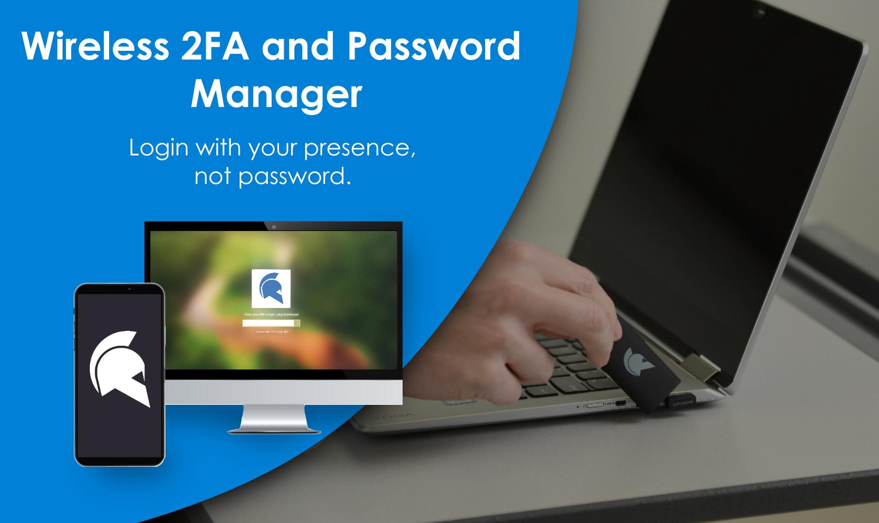 MFA - Security Key for wireless PC login.
